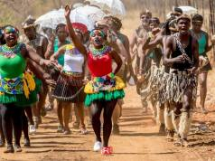Ezimnyama Dance Ensemble Picture By FMG