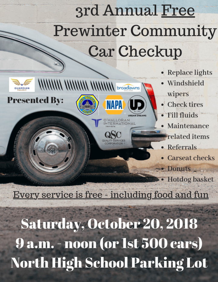 Copy of Community Car Checkup 9.15.18