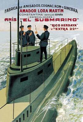 submarine paintings