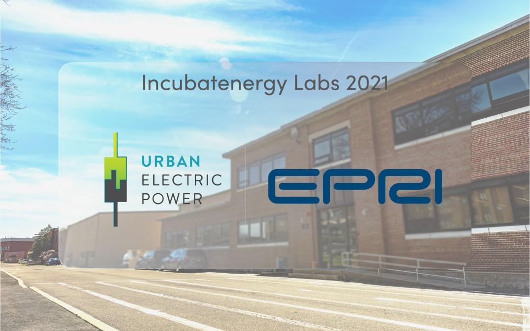 EPRI – Incubatenergy Labs 2021