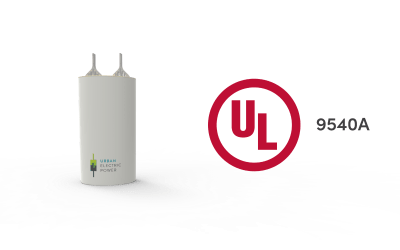 Urban Electric Power's alkaline battery completes thermal runaway testing – Solar Power World