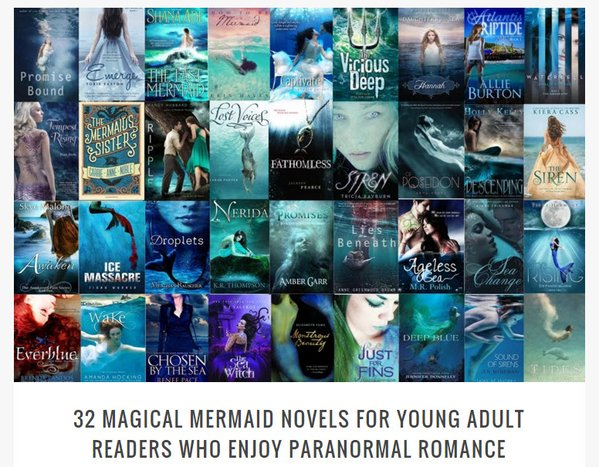 best YA mermaid books