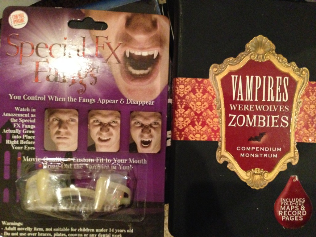 vampires, werewolves, zombies