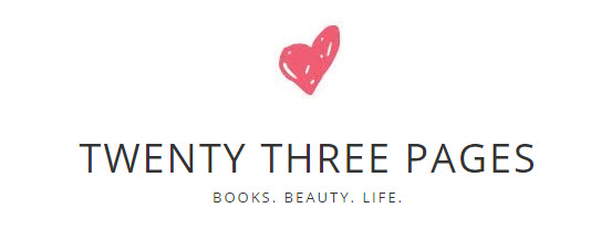Twenty Three Pages book blog