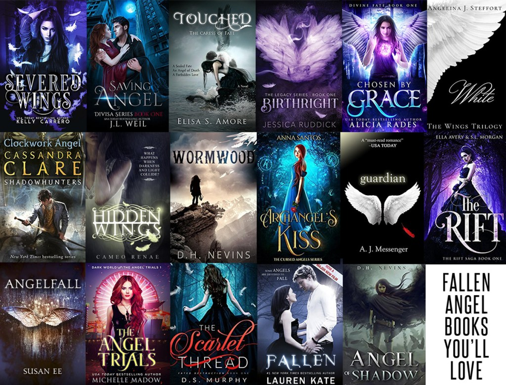 18 Incredible Fallen Angel Romances For Young Adult Readers Urban