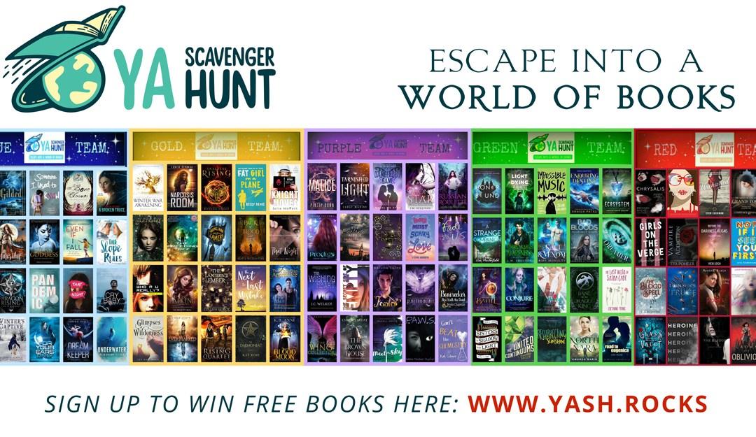 YASH (young adult scavenger hunt 2019)