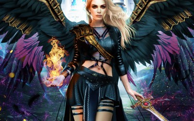 Busted Angel urban fantasy free chapter