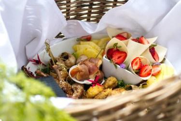 Selection of Canapés | Urban Escargot Wedding Catering