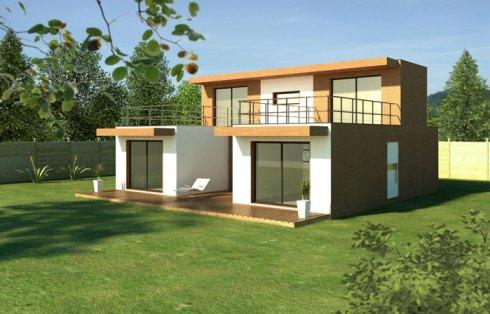 module home maison modulaire en bois urbanews. Black Bedroom Furniture Sets. Home Design Ideas