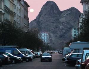 The Berg vue d'une rue