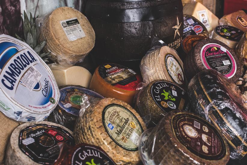 queso en Sevilla