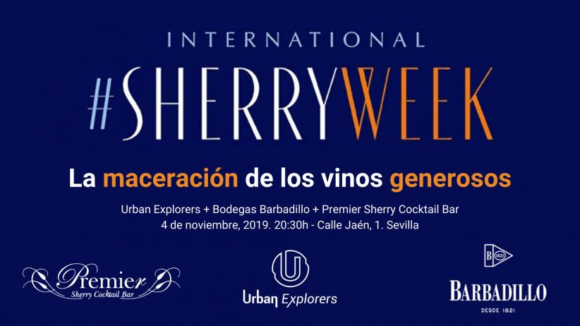 Sherry Week 2019: «La maceración de los vinos generosos»