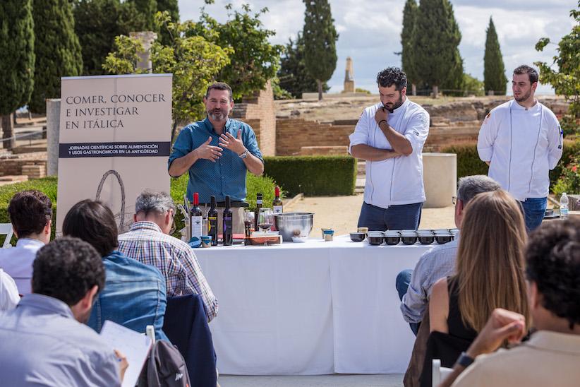 II Jornadas de Gastronomía y Vinos Romanos en Itálica