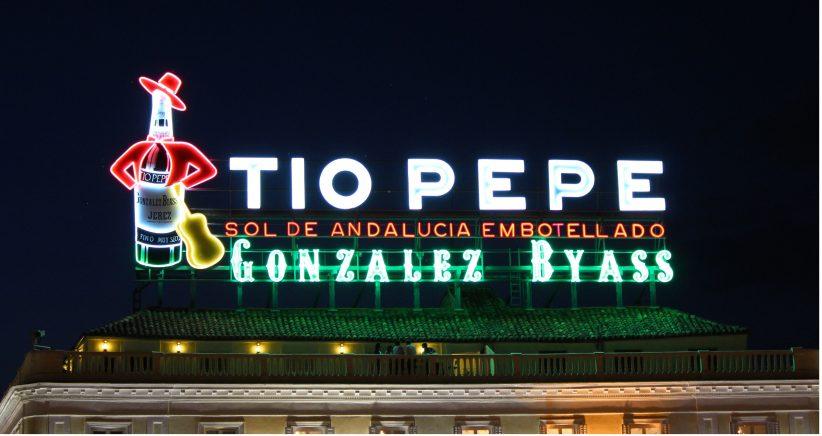Tío Pepe acompañará en la entrada a 2020 desde la Puerta del Sol