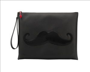 Christian Louboutin Peter Pouch Calf Black Moustache