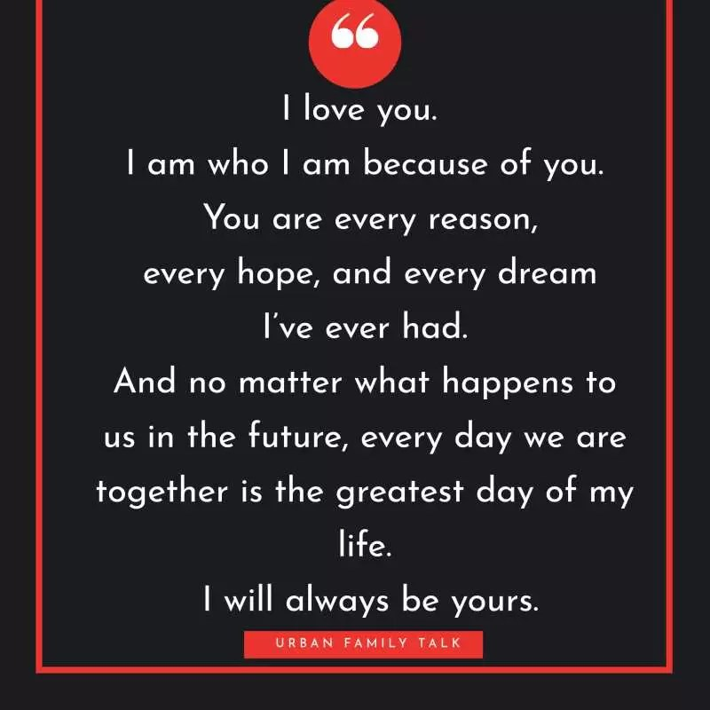 101 Romantic Love Quotes for Him - Cute I Love You Lines - Urban Family Talk