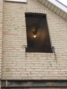exterior window opening