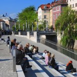 New places to just stop and enjoy life. Source: Visit Ljubljana Pinterest boards.