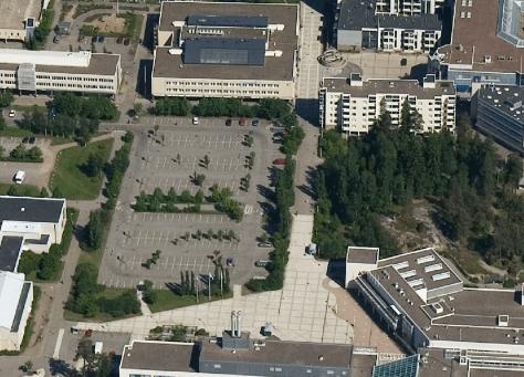 Parking lot.