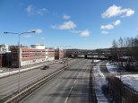 The biggest problem with developing Pukinmäki is that it is right by Ring Road I.
