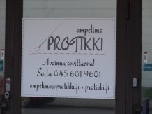 A dressmaker's shop in Roihupelto.