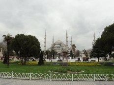 The Blue Mosque or the Sultan Ahmed Mosque is a great example of the exchange of ideas can shape cities. The Ottomans hired European architects to shape their mosques because of their know-how in building domes.
