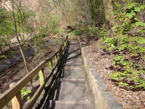 Stairway to the Kelvin