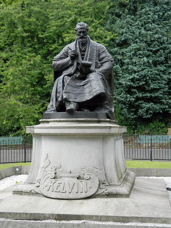 Lord Kelvin making a note of how many times he has seen me this season!