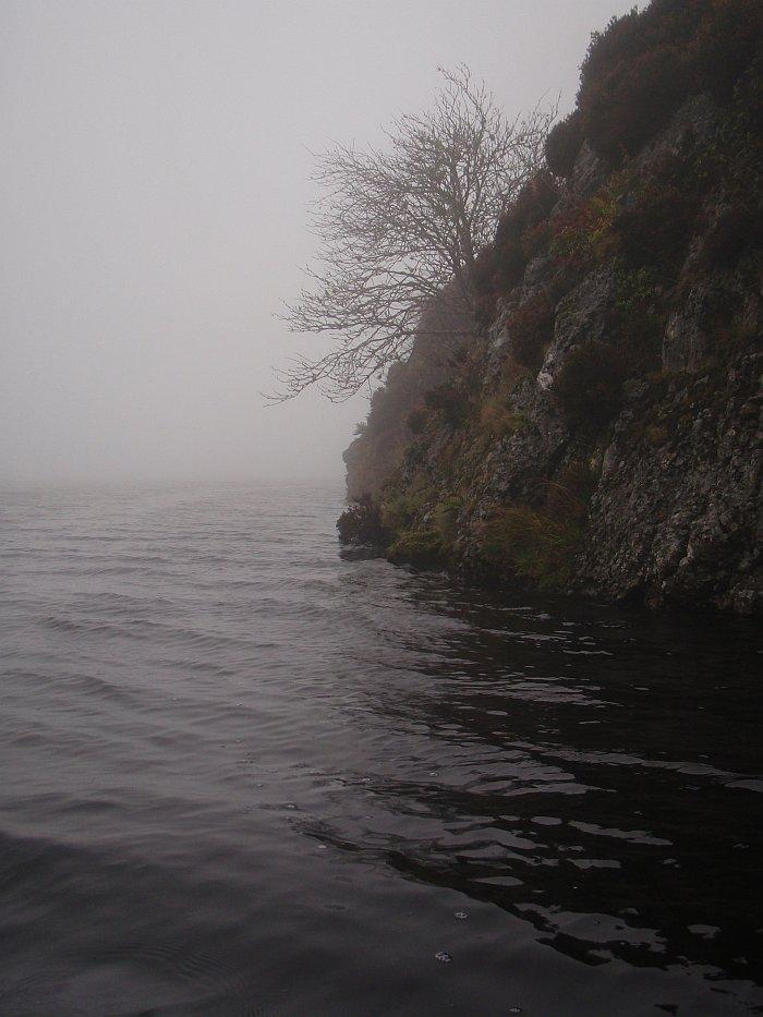 Fog rising?