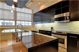 Kitchen in unit 2434