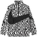 Nike  - Aop swoosh half zip woven jacket