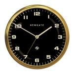 Chrysler Wall Clock Radial Brass