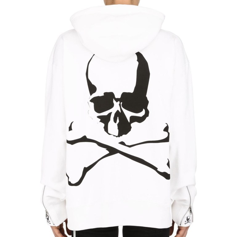 Mastermind World - Logo hooded heavy cotton sweatshirt