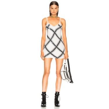 Ashish - Check Slip Dress