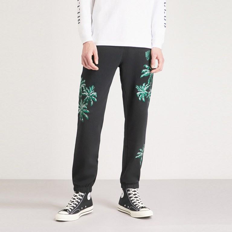 Billionaire Boys Club Palm - Embroidered Jogging Bottoms
