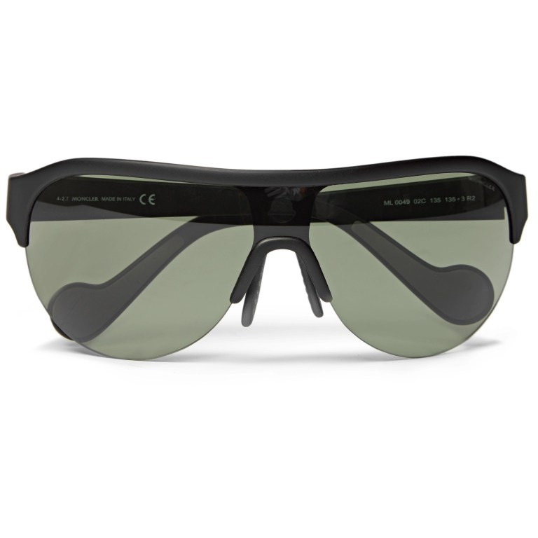 Moncler - Round-Frame Polarised Sunglasses