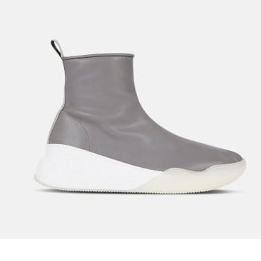 Stella McCartney - Loop Grey Sneakers