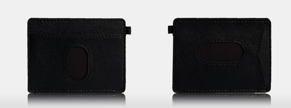 WALLET USA BLACK 3 dark gray color background