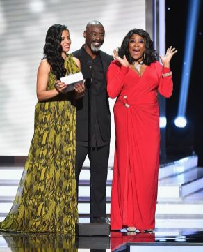 Meta Golding, Isaiah Washington, and Loretta Devine _preview