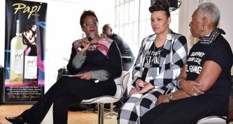 ORSOlive Oil-panel discussion - Harriette Cole, Shawn Tollerson & Bethann Hardison