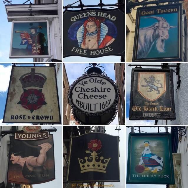 Pub Signs Collage1