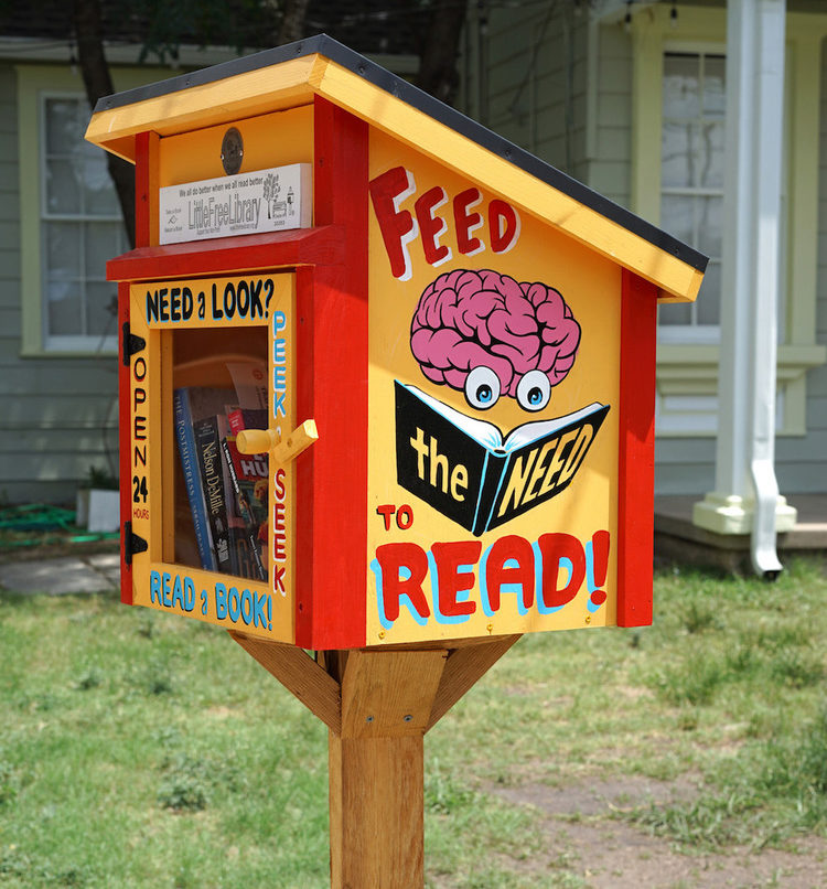 Little Free Library example 1
