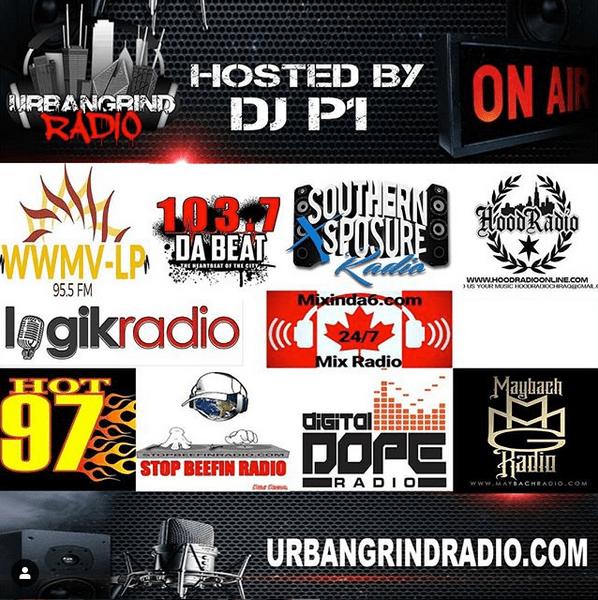 Urban Grind Radio Stations