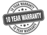 Urban Group 10 year warranty on all gates and fences