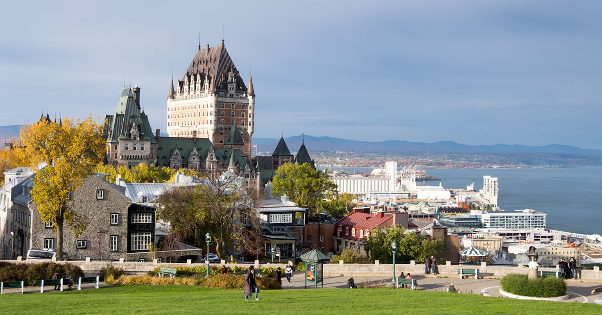 Stay at Fairmont Chateau Frontenac in Old Quebec City