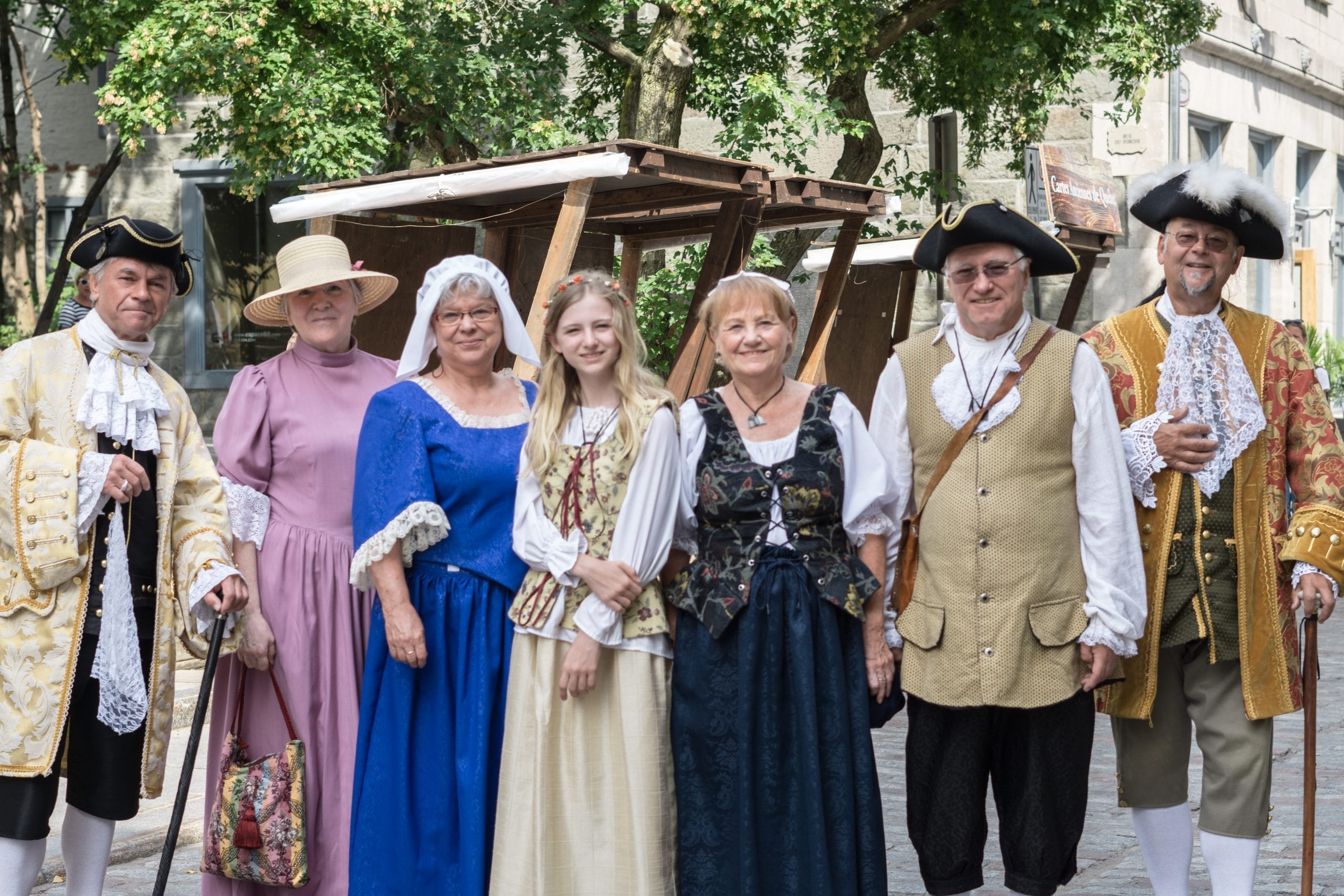 New France Festival In Quebec City