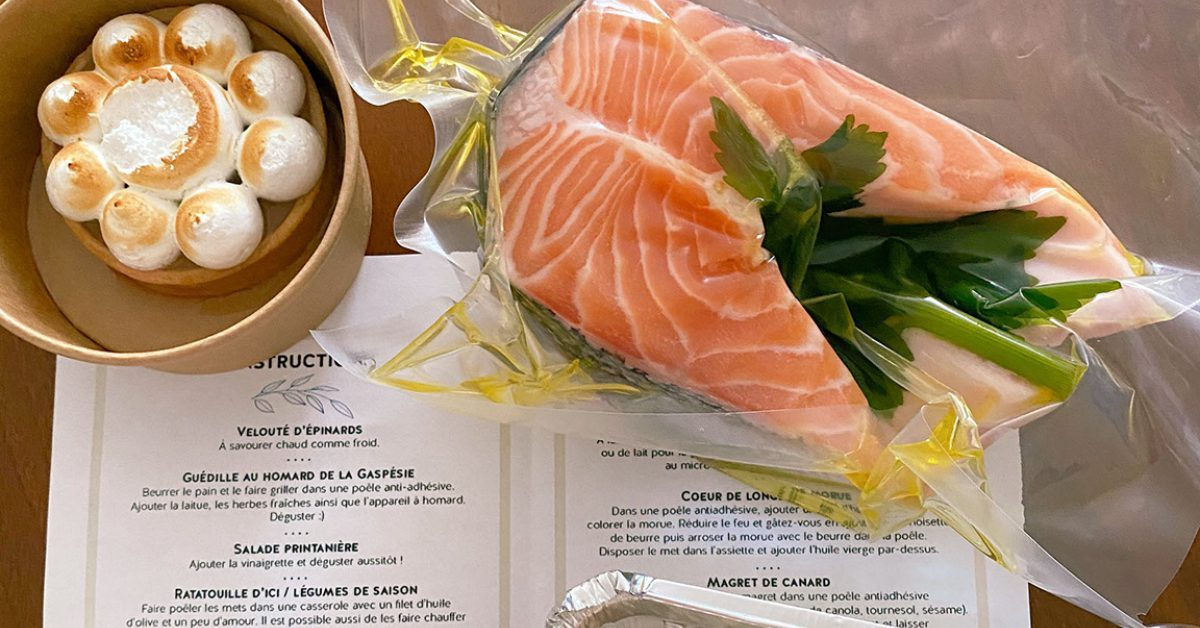 Where to Find Yummy Meal Kits in Quebec City