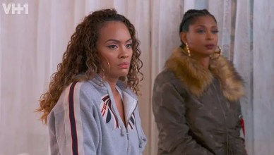 Basketball Wives Episode 3 Evelyn and Jennifer (Credit: VH1)