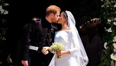 Prince Harry and Meghan Markle were married on Saturday, May 19, 2018. (Credit: Instagram/@kensingtonroyal)