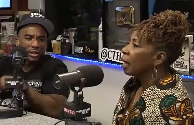 Iyanla on The Breakfast Club on Wednesday, May 9, 2019. (Credit: The Breakfast Club)